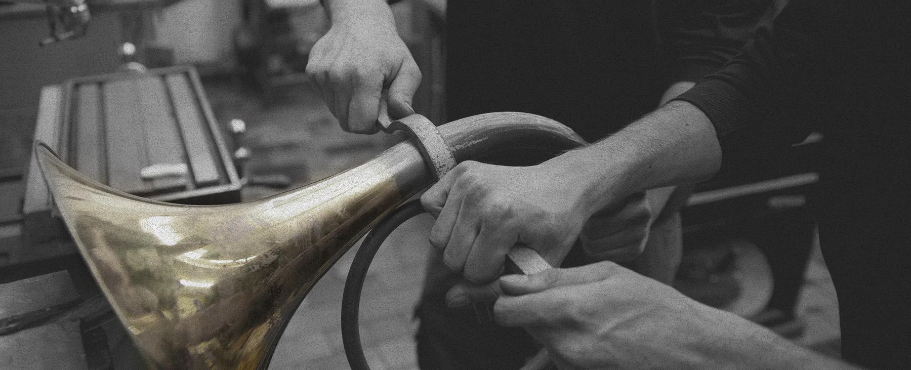 Herstellung hochwertiger Hörner